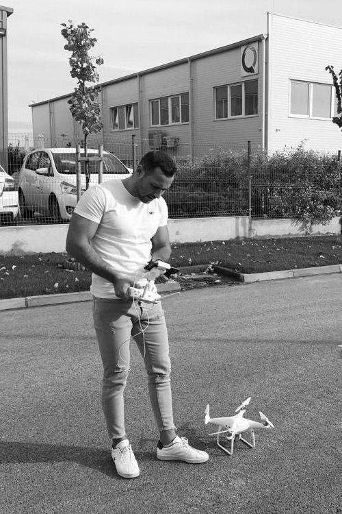 Drónvideózás Ajak